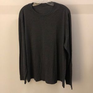 Lululemon men's gray LS top, sz XL, 64881